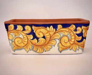 Cerasella Italia s.r.l. - le tue ceramiche di qualità. Fioriera Barocca