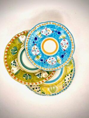 Cerasella Italia s.r.l. - le tue ceramiche di qualità. Set da tre piatti frutta, piano, fondo