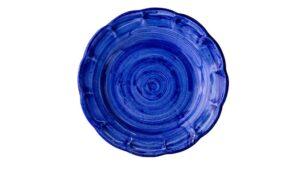 Piatto Tondo Blu